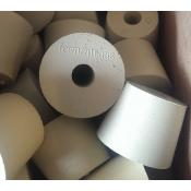 Stopper - #6.5 Drilled Rubber Stopper