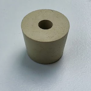 Stopper - #6 Drilled Rubber Stopper