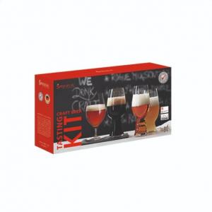 Beer Glass Set - Spiegelau Craft Beer Tasting Kit, Set of 4