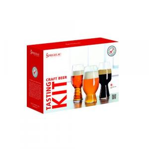 Beer Glass Set - Spiegelau Craft Beer Tasting Kit, Set of 3