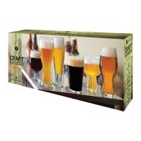 Beer Glass Set - Libbey Craft Brews Beer Glasses, Set of 6