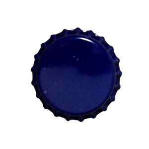Beer Bottle Caps - Blue