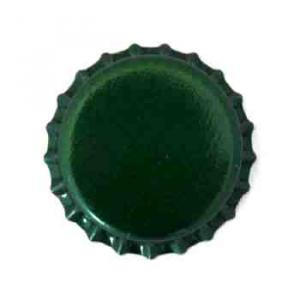 Beer Bottle Caps - Green