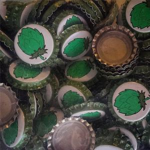Beer Bottle Caps - Hop Cone