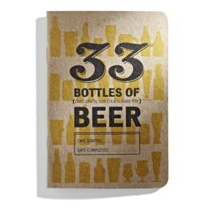 33 Bottles of Beer Journal Book