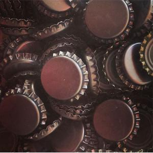 Beer Bottle Caps - Silver