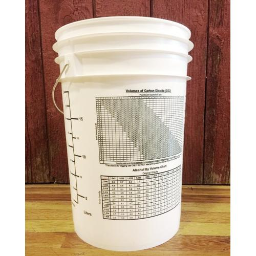 Fermenting Bucket 6 5 Gallon Plastic Michigan Brew