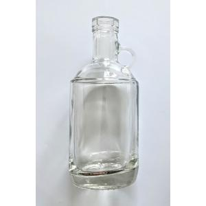 Spirits Bottle - Clear 375mL Moonshine Jug