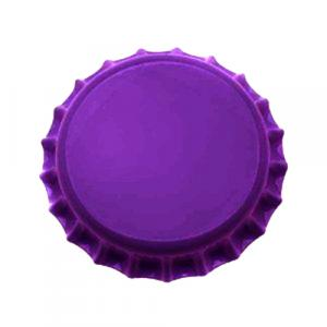 Beer Bottle Caps - Purple