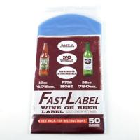 FastLabel 16-26 oz Bomber Wine Labels