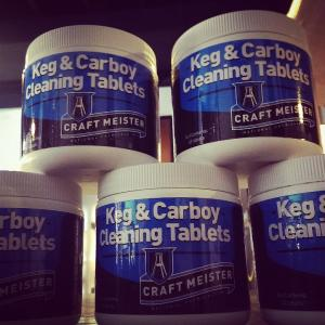 Brew Meister Keg & Carboy Cleaning Tablets