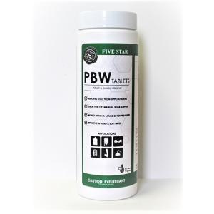 Five Star PBW Tablets - 10 gram, 40 count