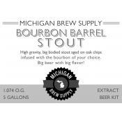 Bourbon Barrel Stout Extract Brewing Kit