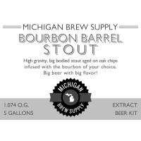 Bourbon Barrel Stout Extract Brewing Kit