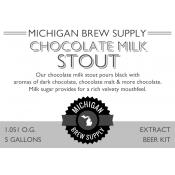Chocolate Milk Stout Extract Brewing Kit