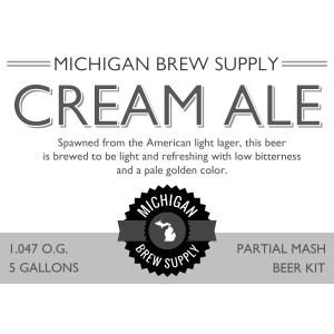 Cream Ale Extract Brewing Kit