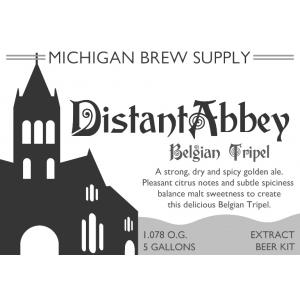 Distant Abbey Belgian Tripel Extract Brewing Kit