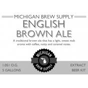 English Brown Ale Extract Brewing Kit