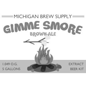 Gimme Smore Brown Ale Extract Brewing Kit