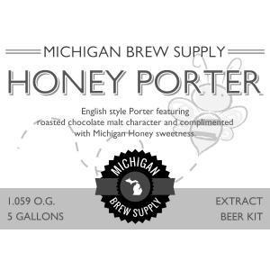 Honey Porter Extract Brewing Kit