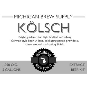 Kolsch Extract Brewing Kit