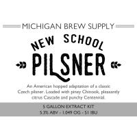 New School Pilsner Extract Brewing Kit