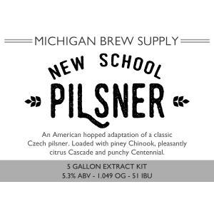 New School Pilsner Extract Brewing Kit