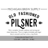 Old Fashioned Pilsner Extract Brewing Kit