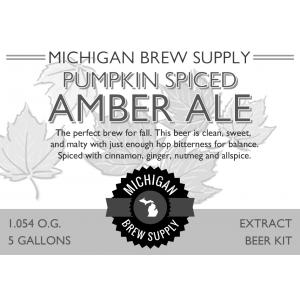 Pumpkin Spiced Amber Ale Extract Brewing Kit