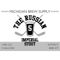 The Russian 5 Imperial Stout Extract Brewing Kit