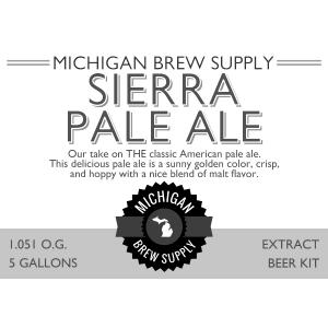 Sierra Pale Ale Extract Brewing Kit