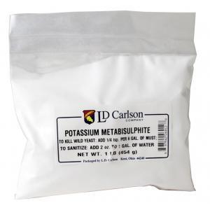 Potassium Metabisulphite - 1 lb.