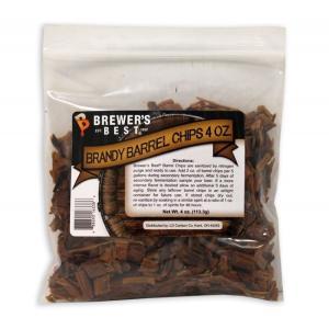 Oak Chips - Brandy Barrel Oak Chips 4 oz.