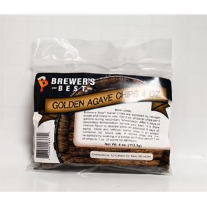 Oak Chips - Golden Agave Barrel Oak Chips 4 oz.