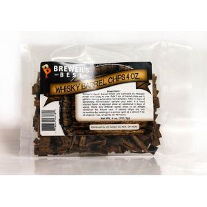 Oak Chips - Whiskey Barrel Oak Chips 4 oz.
