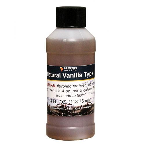 Vanilla Type Natural Flavoring Extract