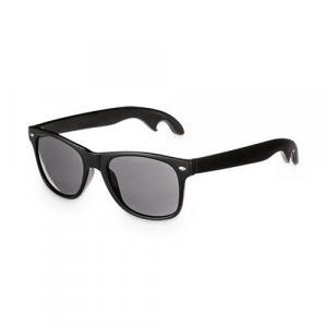 Bottle Opener Sunglasses - Black Classic Style Sunglasses