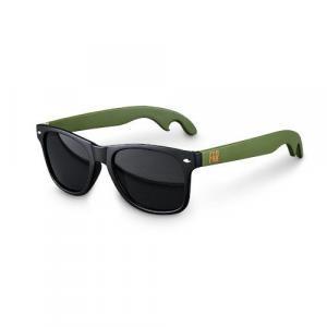 Beer Bottle Opener Sunglasses -  Green & Black Sunglasses by Foster & Rye