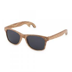 Bottle Opener Sunglasses - Faux Wood by Foster & Rye