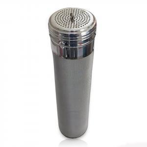 Hop Filter - 400 Micron Stainless Hop Filter w/ Screw Cap