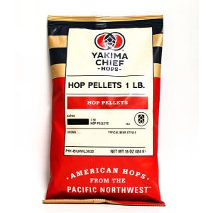 Amarillo® Hops, One Pound Pellets