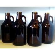 Beer Bottles - 32 oz Amber Howler