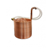 "Wort Chiller - 50"" Jumbo Copper Immersion Chiller"