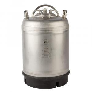 Keg - 3 Gallon Ball Lock, New, Single Handle