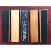 Tap Handle - Chalkboard & Wood