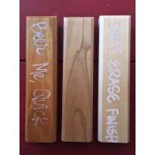 Tap Handle - Dry Erase & Wood