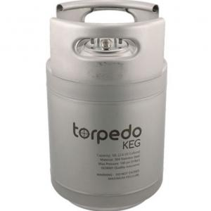 Keg - 2.5 Gallon Torpedo Ball Lock Keg, New