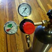 CO2 Regulator - Taprite Dual Gauge