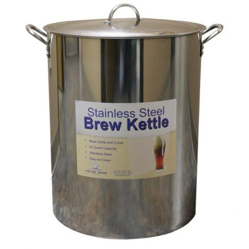 Brew Kettle - 15 Gallon (60 Qt) Stainless