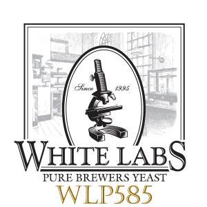 White Labs WLP585 Belgian Saison III Liquid Yeast